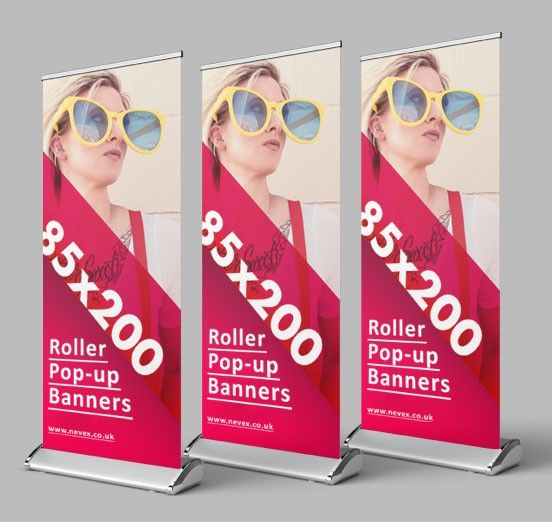 Roller Banners Central London
