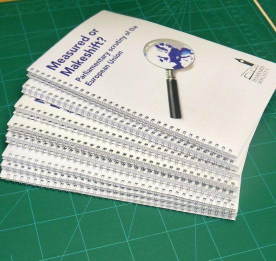 report and manual printing