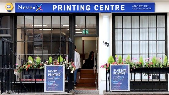 Central London printing centre | Nevex Printing