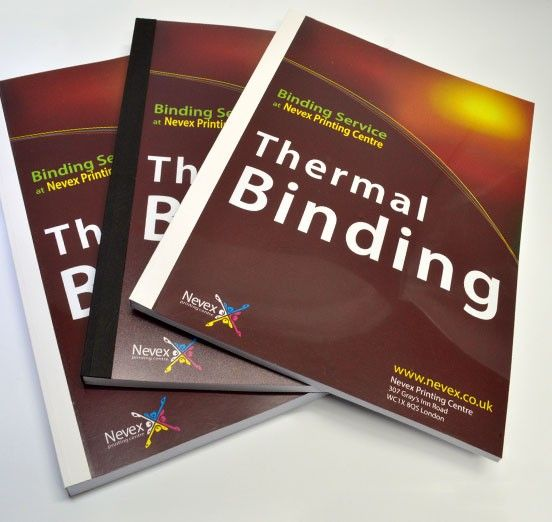 thermal binding Central London