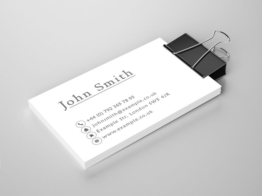 Business Card Samples Nevex Printing Centre