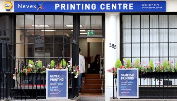 Nevex Printing Centre front
