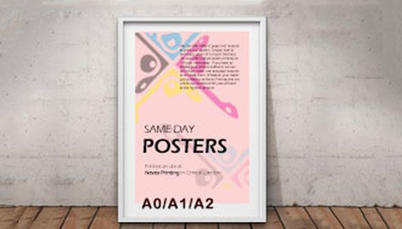 same day cheap posters