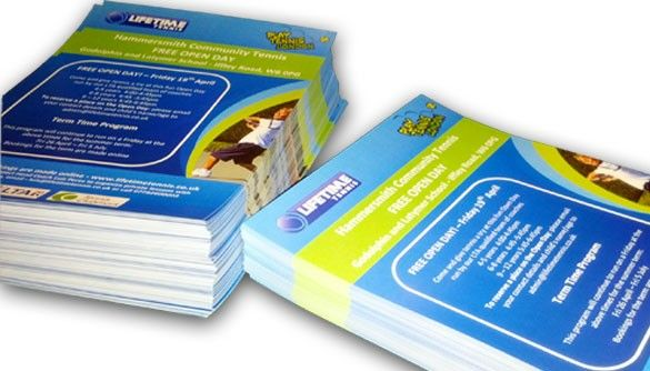 Central London leaflet printing