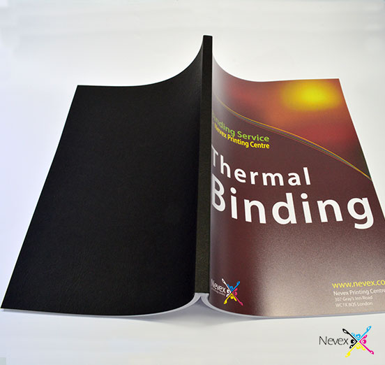 black thermal binding London